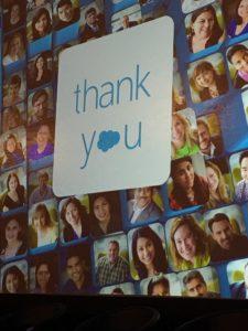 Salesforce Thank You